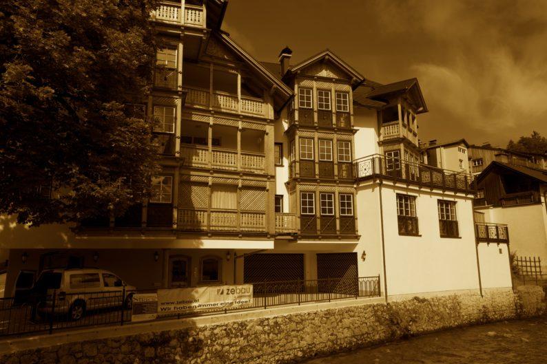 Bad Aussee- das renovierte Klacklhaus