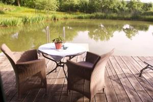 höchst romantisch - das Teichhaus im Hofgut Hafnerleiten