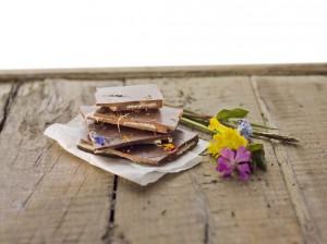 Berglegenden - Heublumen oder Kräuter in Schokolade gehüllt. Foto Ludwig.