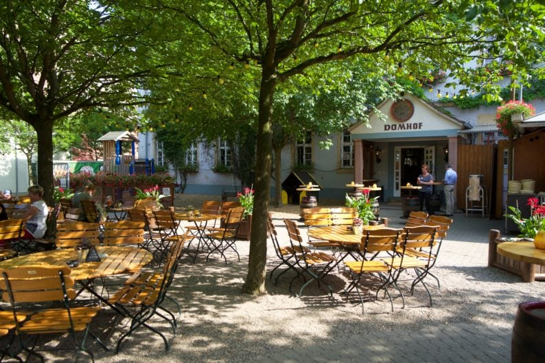 Biergarten des Domhof