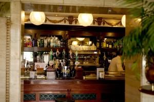 Die Bar des Café del Oriente.