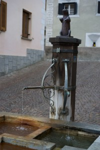 In Tschlin ist die Dorfwelt noch in Ordnung.