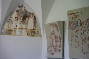 Glurns - Kapelle St. Jakob in Söles - Freskenreste