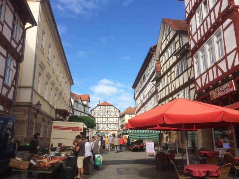 Eschwege - Wochenmarkt (2)