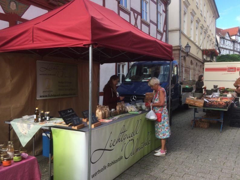Eschwege - Wochenmarkt (3)
