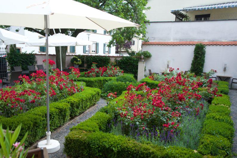 Garten des Feuerbach-Hauses