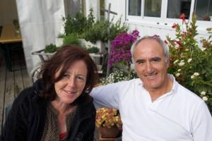 Erwin Braunhofer und Mengia Monn leiten das Restaurant im Golfhaus Sedrun
