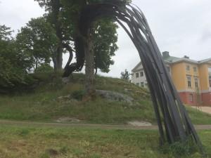 Im Park von Gunnebo - Land Art von Rainer Gross
