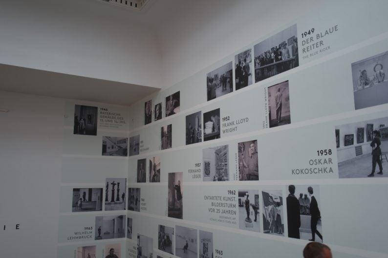 Haus der Kunst - Ausstellungen nach 1945