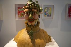 viel zeitgenössische Kunst im Holder Grand gezeigt.
