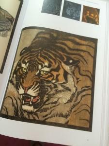 Kunst für alle - Taschen Verlag - Tigerkopf von Ludwig Heinrich Jungnickel