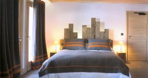 Sehr schöne Zimmer gibt es im Hotel von Flocons de SEL.