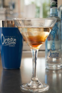 one of the drinks with Organic Ocean Vodka