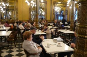 Das Café de Iruna ist das Wohnzimmer vom Pamplona