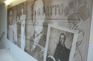 Die Wände des Hotels La Perla erzählen von der Geschichte des Sanfermines