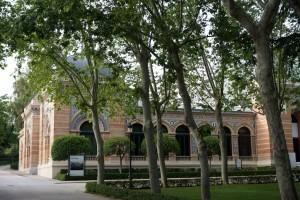 Im Parque el Retiro steht der Palacio Velasquez