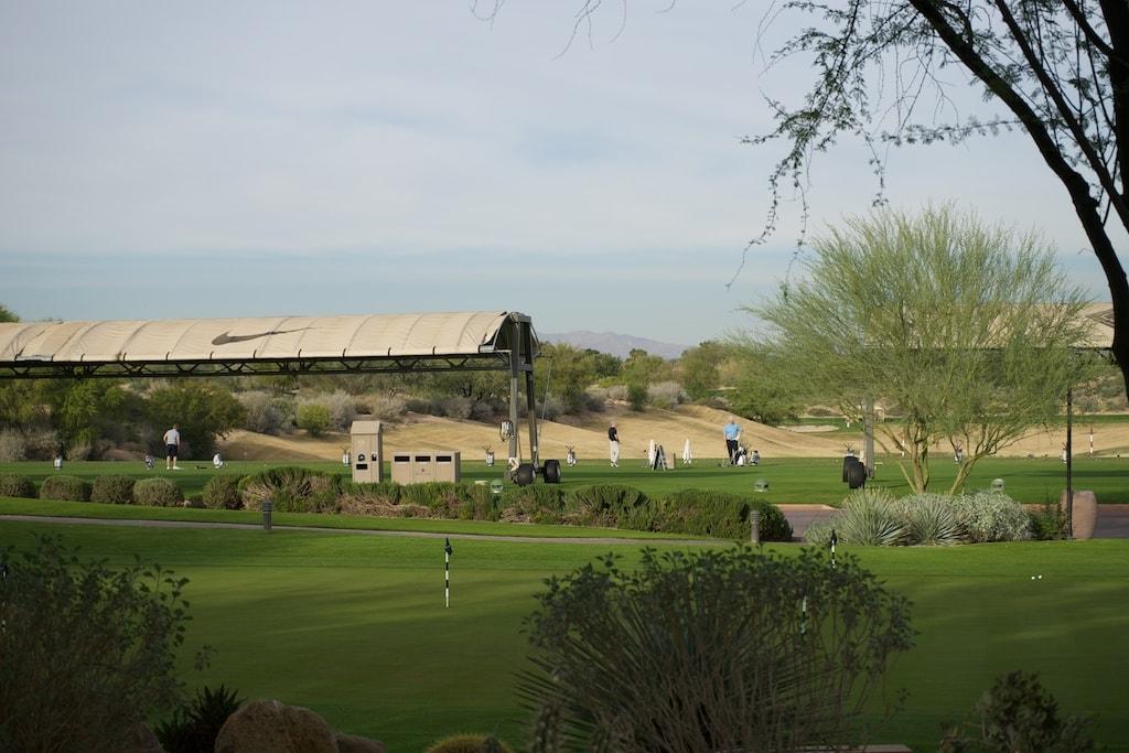 Viel Platz zum Üben gibt es auf dem Kierland Golf Resort.