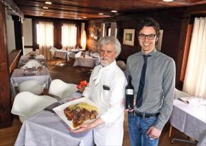 auf 120 Jahre Tradition blickt die Familie Coldesina zurück . Guercino und Sohn Francesco