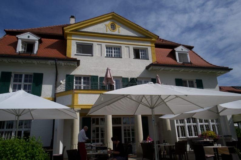 Schloßhotel Oberambach - Terrasse