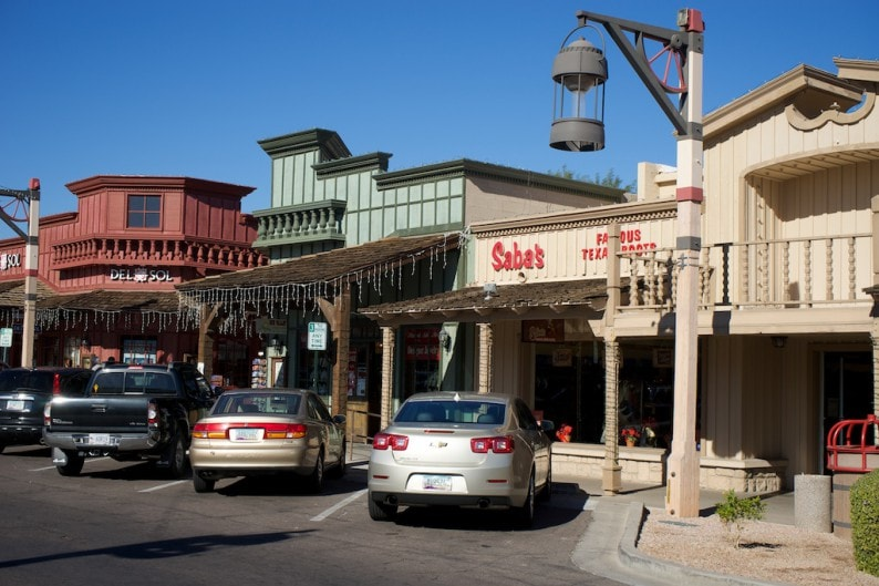 Scottsdale - historisches Zentrum