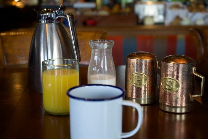 Scottsdale - Four Seasons - Frühstückstisch