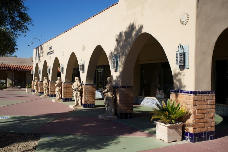 Scottsdale - Galerien Main Street