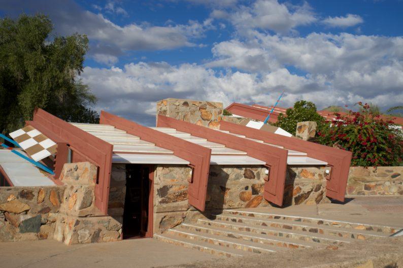 Scottsdale - Taliesin - Frank Lloyd Wright - Empfang