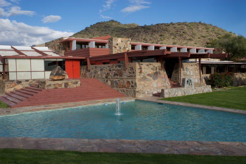 Scottsdale - Taliesin - Frank Lloyd Wright - Vorderansicht