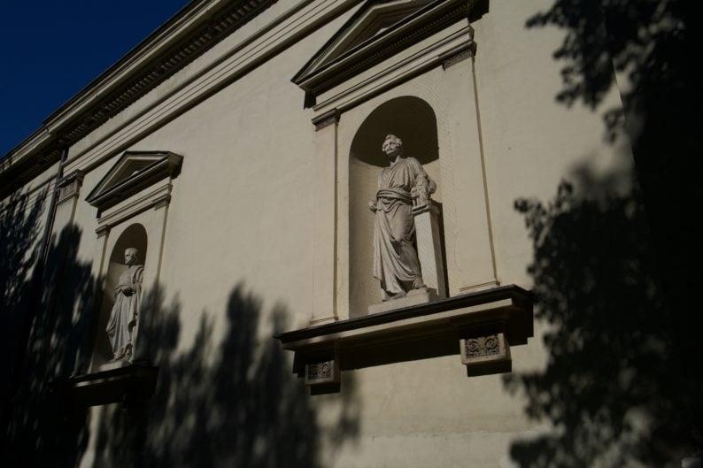 Seitenfassade der Glyptothek