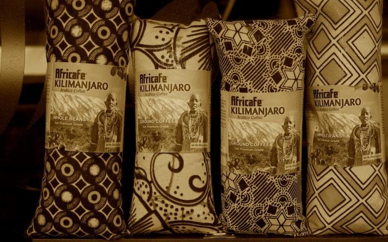 Tanzania - Arusha - Kaffee vom Kilimanjaro