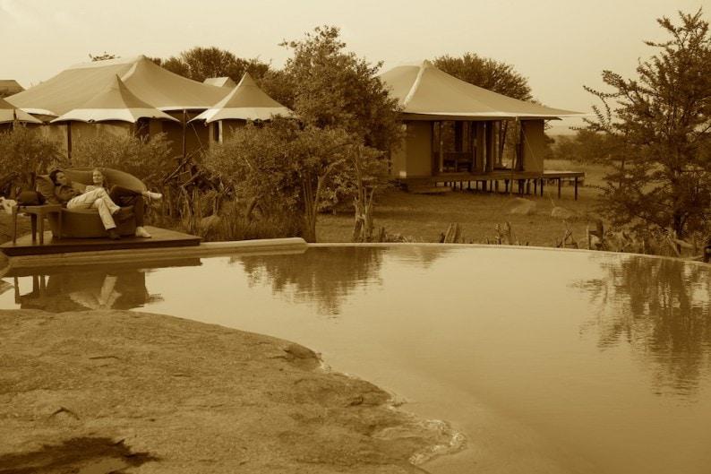 Tanzania - Sayari Camp - Pool