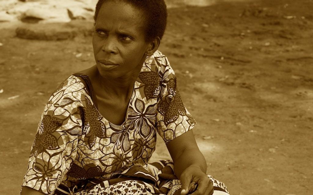 A beautiful woman of the Kuria  tribe