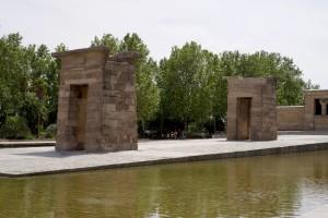 Altägyptische Tempelanlage mitten in Madrid