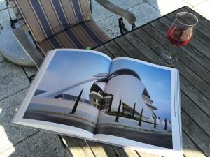 Terrasse - Santiago Calatrava- Opernhaus Valencia. Foto Palladium Fotodesign