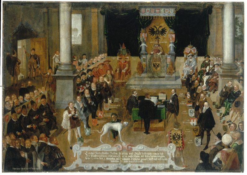 Verlesung der Augsburger Konfession