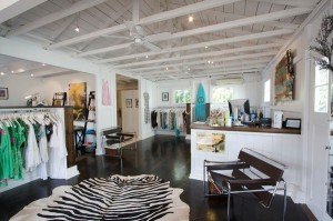 Inside the boutique Letarte
