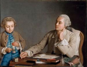 Jean -Etienne Liotard - L'ecriture  Foto. Edgar Knaack