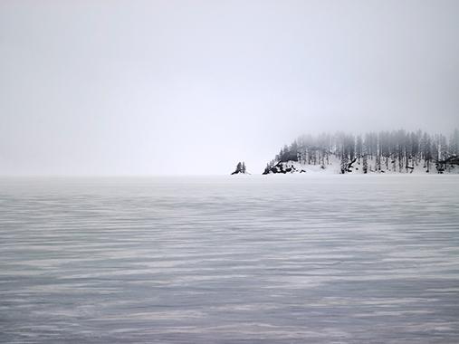 Galerie Peter Vann - eines der grandiosen Fotos von Peter Vann - Silser See 2014