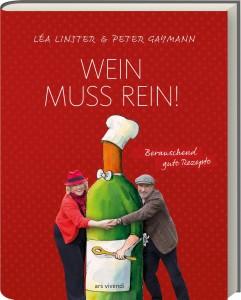 Kochbuch von Lea Linster mit Zeichnungen von Peter Gaymann