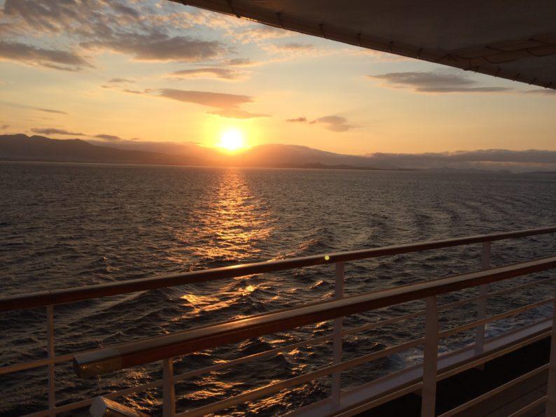 Ägäis - Sonnenuntergang (1)