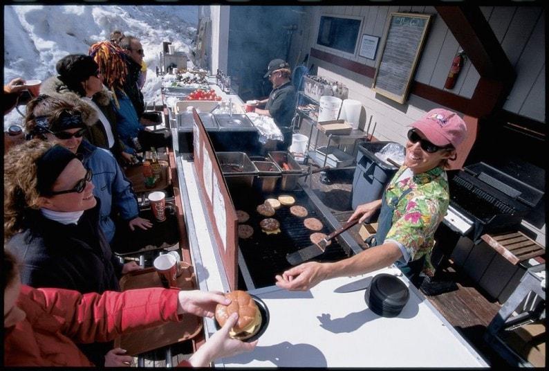 Aspen - Hamburger auf  Snowmass