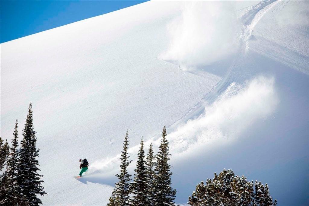 So schön kann Skifahren sein.