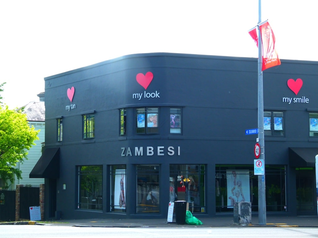 Zambesi auf Posonby Road