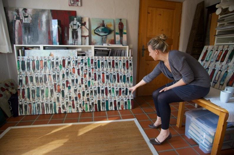 Bad Endorf - Atelier Katharina Schmidmayer Ordnung wird Unordnung, dann wieder Neuordnung