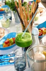 Der grüne Smoothie gehört dazu - Catering von Holger Stromberg