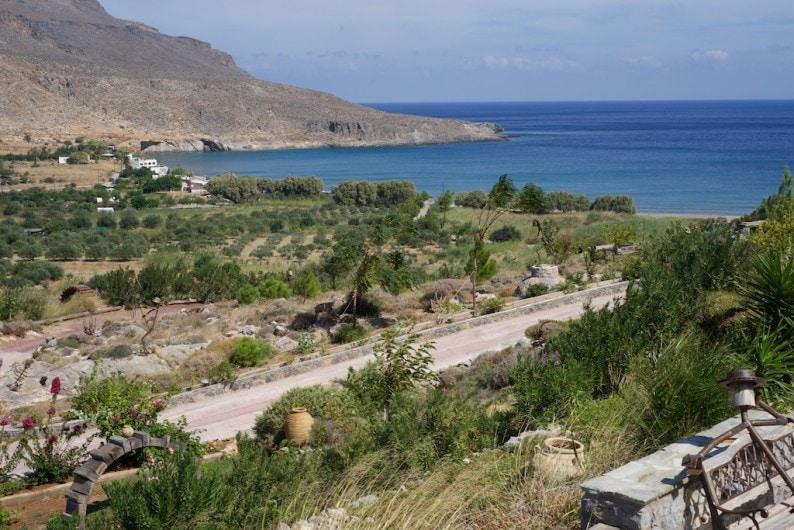 Blick auf Terra Minoika Villas