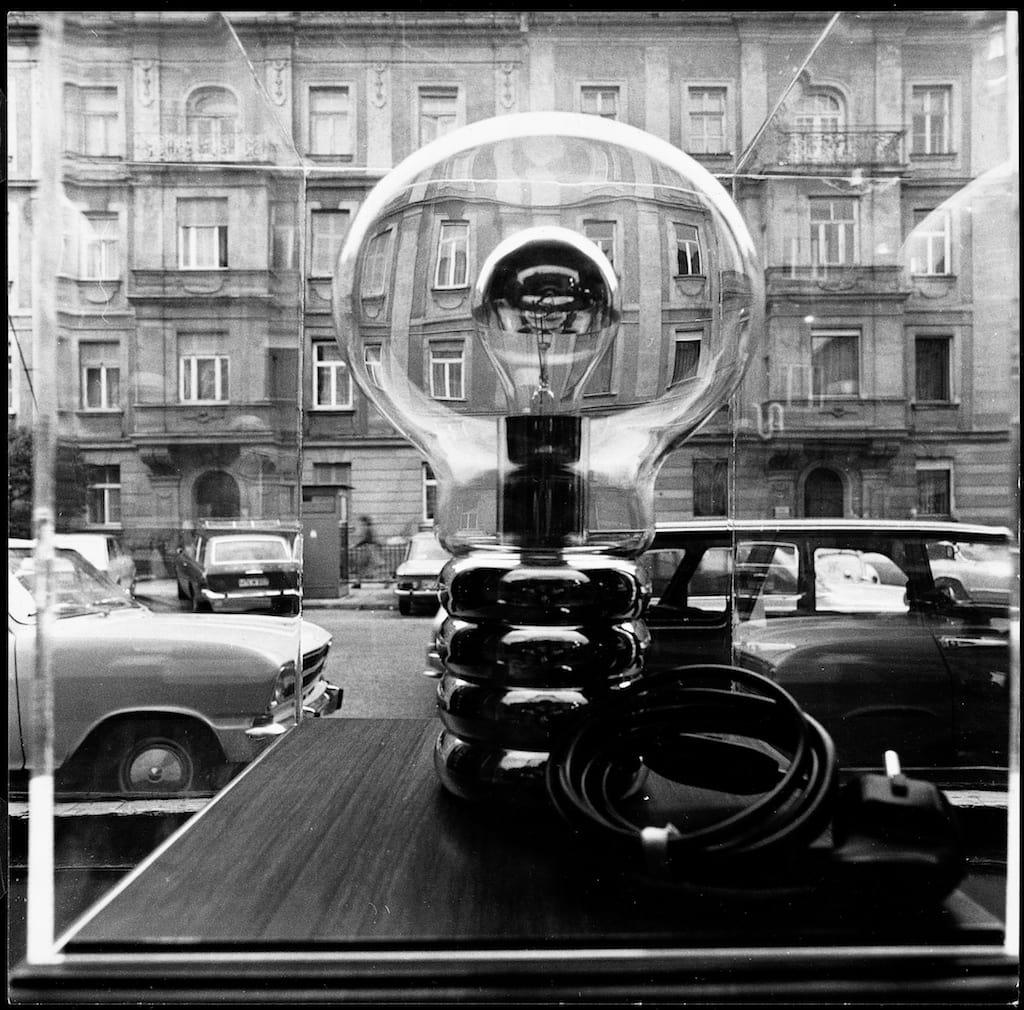 """Seit 1966 begeistert die Designlampe """"Bulb""""  von Ingo Maurer."""