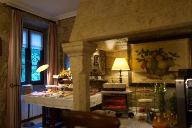 Calda de Reis - Hotel Torre do Rio - Frühstück