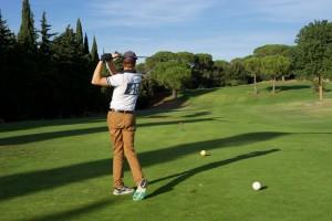 Lange Drives verlangt der Golfplatz von Carcassonne.