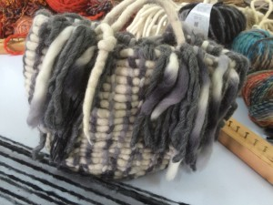 Eine Handtasche von Idoia Cuesta